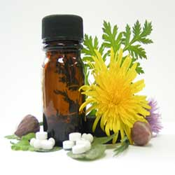 homeopathy with floral