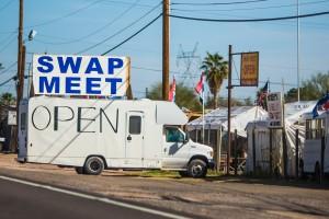 swap meet logo